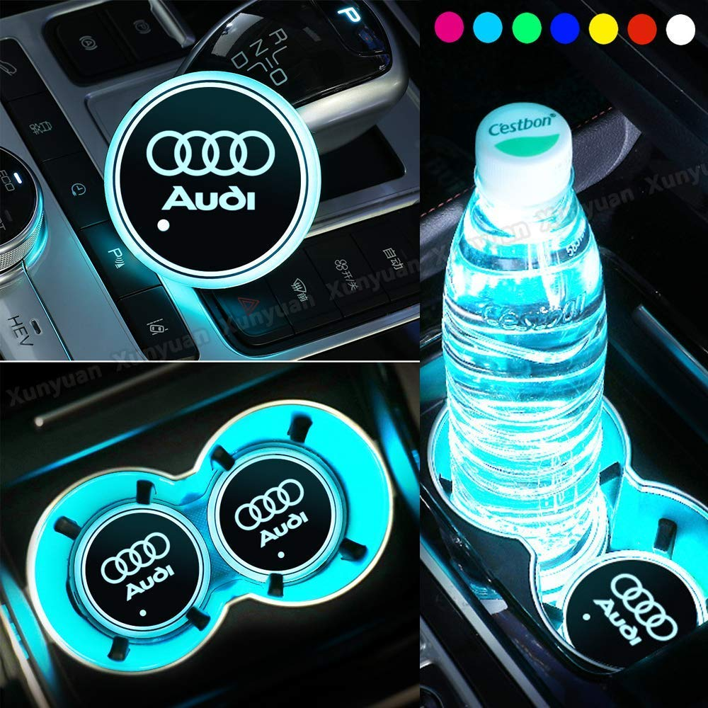 2PCS Silicone Nonslip Car Cup holder Mats Car Interior Accessories/ Anti Slip Cup Mat