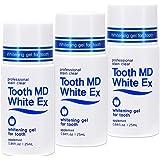 トゥースMDホワイトEX 3個セット [歯のホワイトニング] 専用歯ブラシ付き