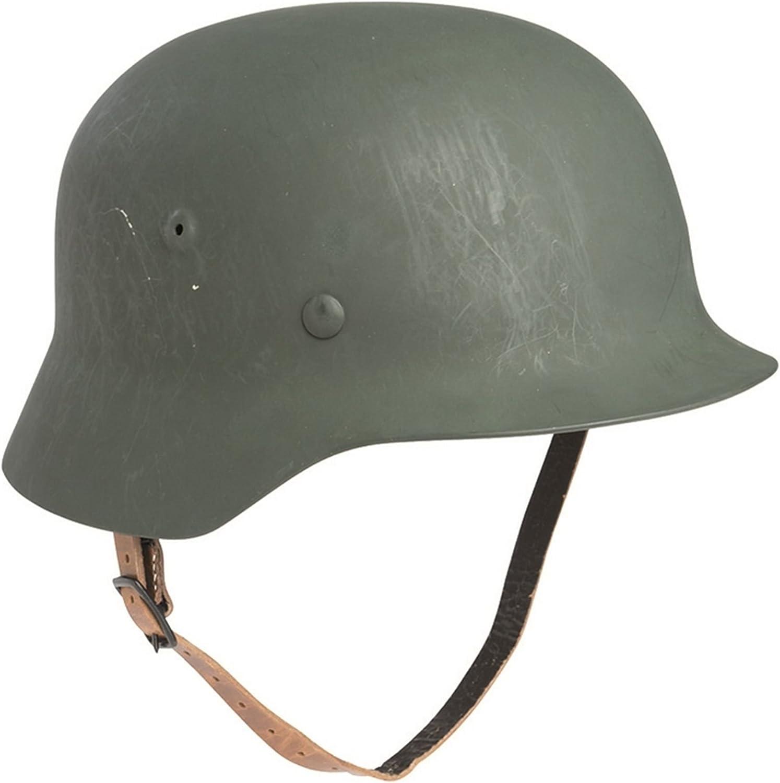 Mil-Tec Casco tedesco Stahlhelm M40 2eme della seconda guerra Mondiale la riproduzione