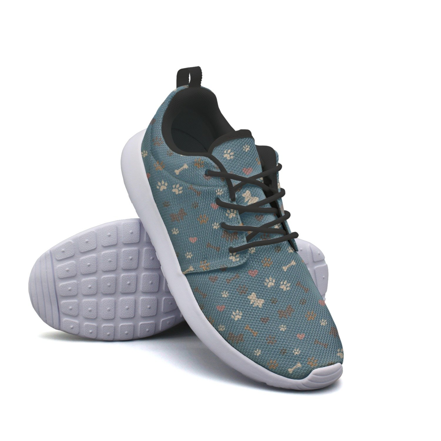 FUFGT Paw Party Women Printing Design Running Shoes Hunting Gift