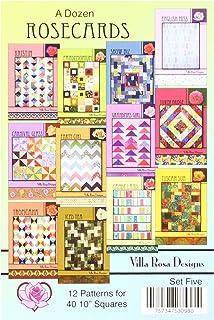 PATTERN pieced quilt mini PATTERN Emma Grace Villa Rosa Designs