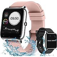 Smartwatch Pulsera Inteligente, 14in Reloj Deportivo Pantalla Táctil Completa, Pulsera Actividad Impermeable IPX7…