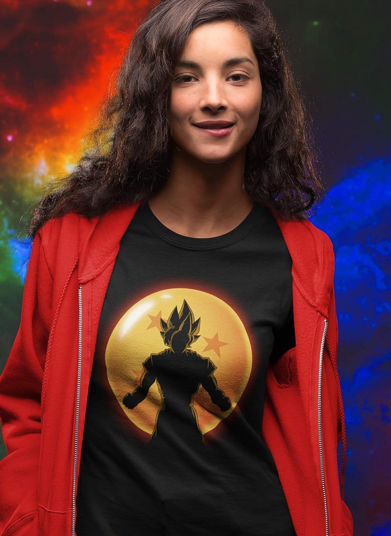 ddjvigo 4523-Camiseta Premium,Super Saiyan Hero