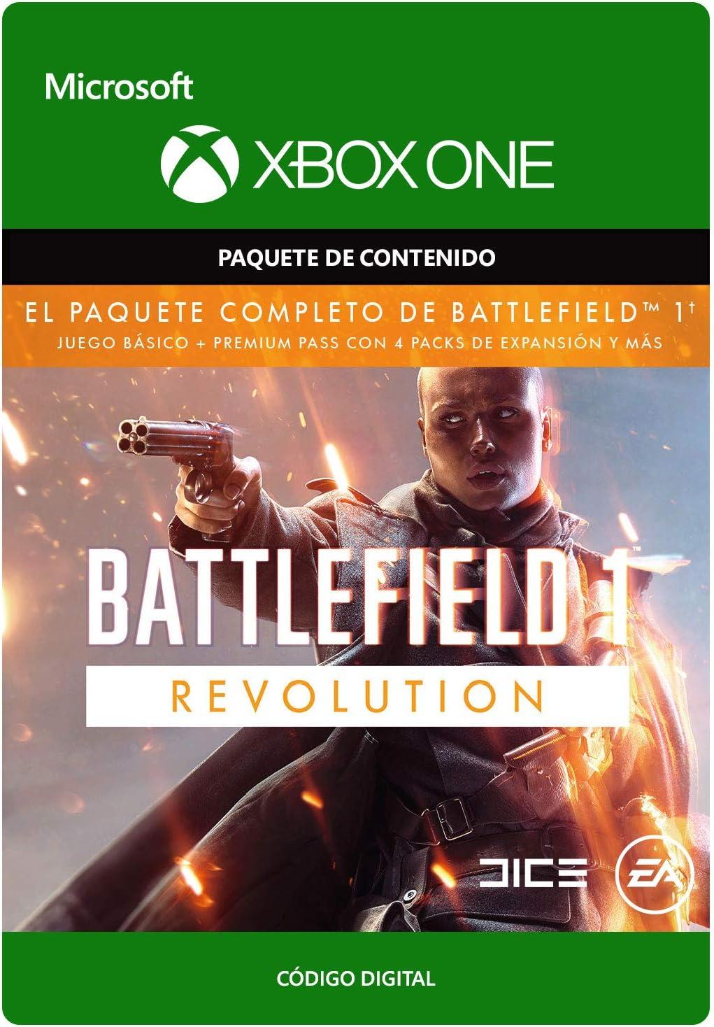 Battlefield 1: Revolution | Xbox One - Código de descarga: Amazon.es: Videojuegos