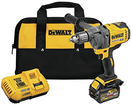 DEWALT DCD130T1 60V Max Mixer Drill with E-Clutch System Kit