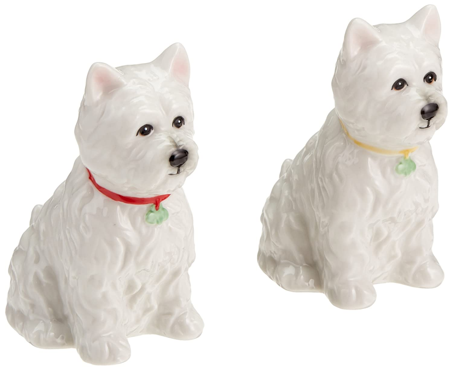 CG 20885 2.88 Ceramic Westie Dog Salt and Pepper Shaker, Set of 2 SS-CG-20885