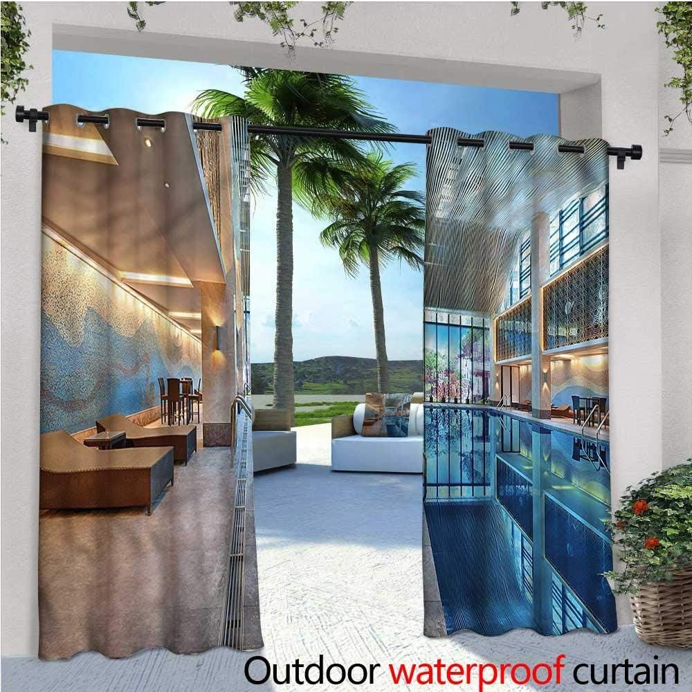 warmfamily - Cortinas de balcón con diseño de balcón, de bambú en ...