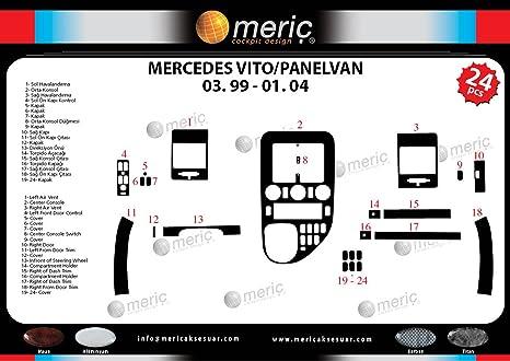 MERIC Decoración de Salpicadero (CD-WU00363) Versión 3D exclusiva, específicamente para el