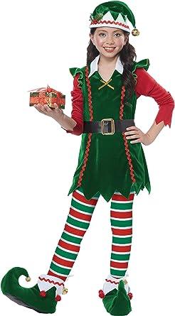 Amazon.com: Disfraz de elfo de California: Toys & Games