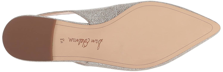 Sam Edelman Women's Raya Ballet Flat Glam B07BRB32KJ 6 B(M) US|Jute Glam Flat Mesh b17657
