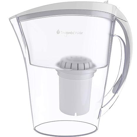 Amazon.com: PH Refresh - Jarra de agua alcalina con filtro ...