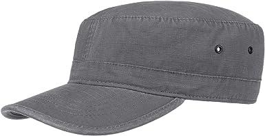 Lipodo Gorra Militar Mujer/Hombre - Gorra 100% algodón - Gorra con ...