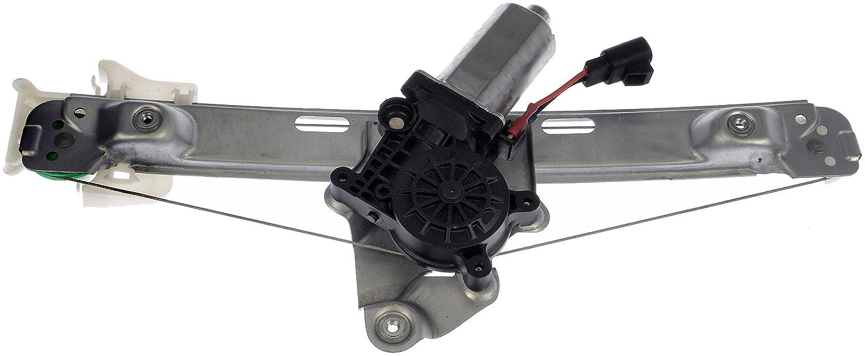 Dorman 748-987 Rear Passenger Side Power Window Regulator and Motor Assembly for Select Chevrolet Models