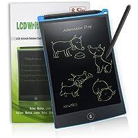 NEWYES Tablette d'écriture LCD numérique Ewriter NYWT085A- 8.5 Pouces Tablette Graphique Portable Tableau Blanc Tablette Robuste Convient pour l'école à Domicile Bloc-Notes de Bureau (Bleu)