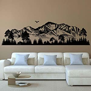mountain wall decals for kids rooms mountain wall decor nursery mountain art wall decor woodland nursery wall art woodland wall stickers ik3705