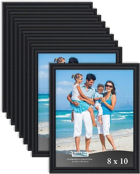 Baby Pink 5 x 5 Size Wholesale Bulk Lots Bundle Wood Frames Good for Photo Picture Photo Poster Wedding Art Prints Home Decor