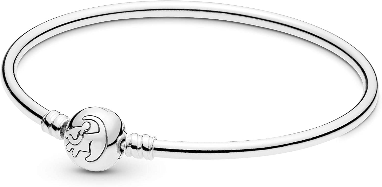 PANDORA Disney The Lion King Bracelet and Charm 925 Sterling Silver Gift Set