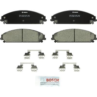 Bosch BC1058 QuietCast Premium Ceramic Disc Brake Pad Set For: Chrysler 200, 300; Dodge Caliber, Challenger, Charger, Magnum, Front: Automotive