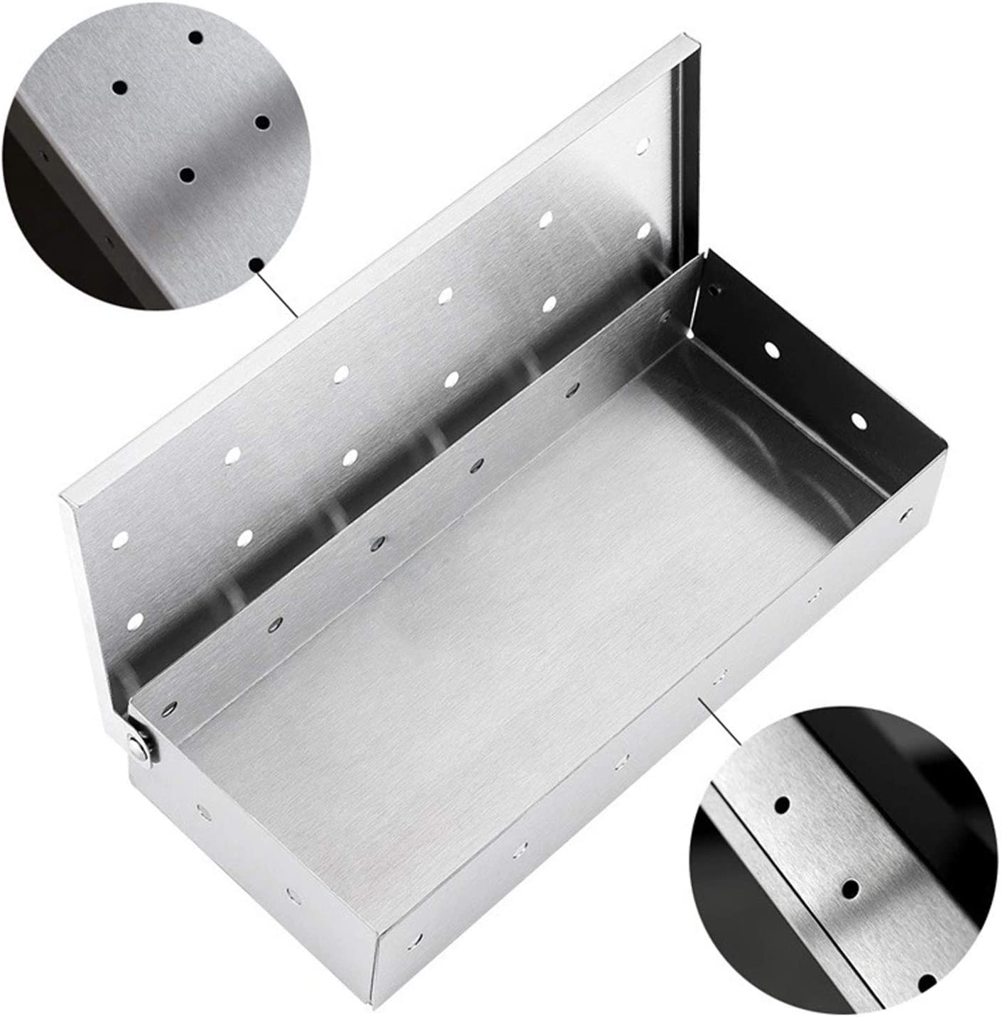 Smoker Boxes Smoker Box for Wood Chips,Use a Gas or Charcoal BBQ ...