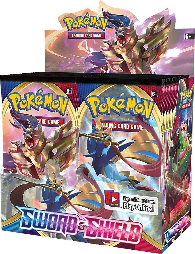 Pokémon POK816512 TCG Pantalla de refuerzo de espada y escudo ...