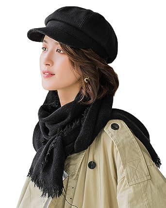 E.Joy Online Trendy - Gorra de bretón para Mujer, Estilo Boina ...