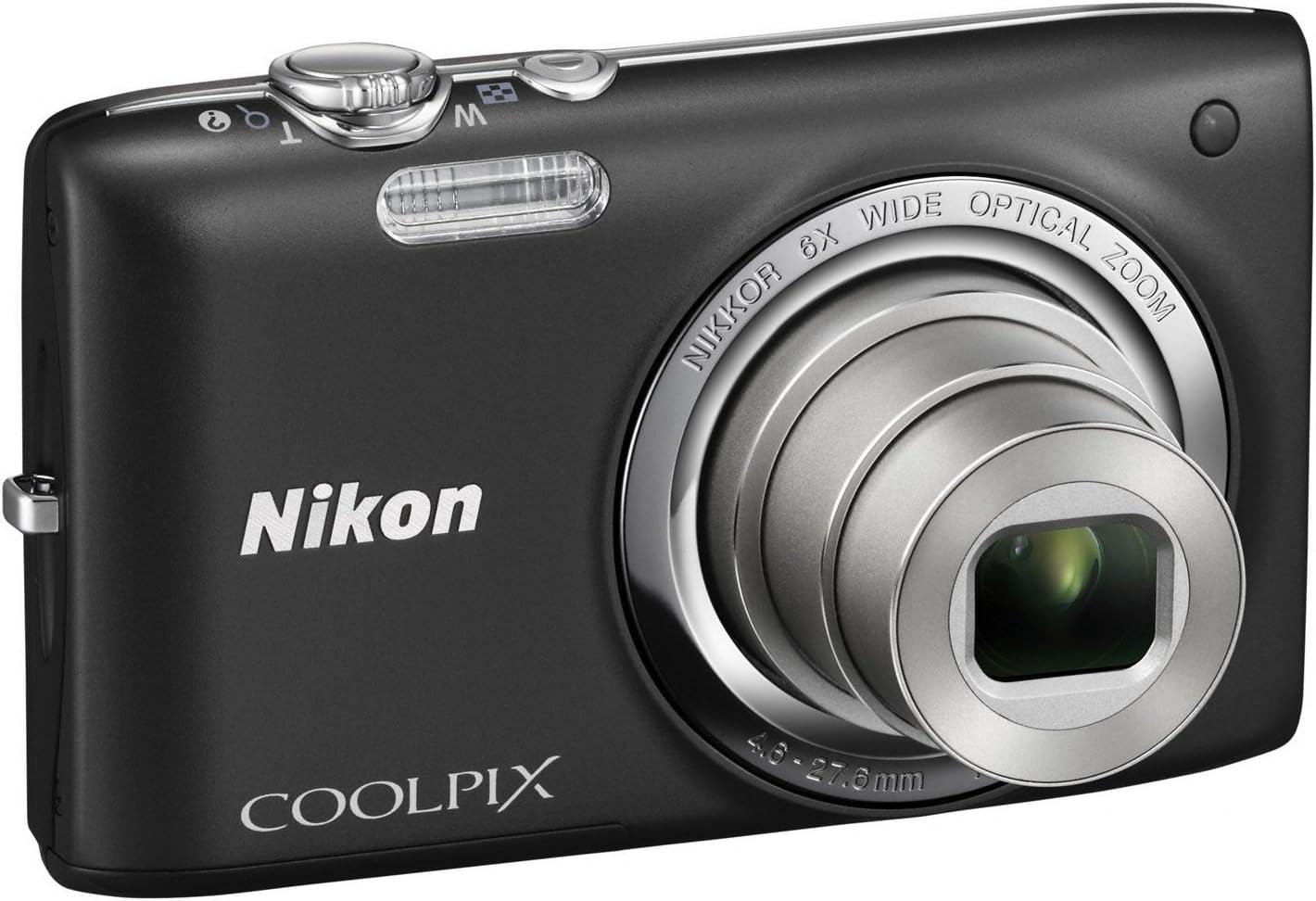 Nikon Coolpix S2700 Digitalkamera 2 7 Zoll Schwarz Kamera