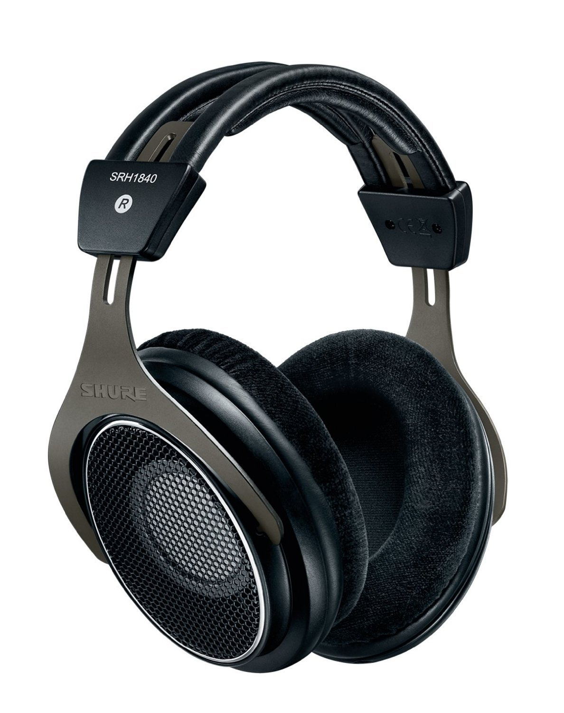 Shure SRH1840 Professional Open Back Headphones Black
