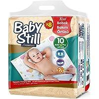 Baby Still Bebek Bakım Alt Değiştirme Örtüsü 8'li Fırsat Paket - 80 Adet