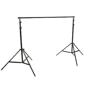 BeMatik - Soporte de fondos de tela para estudio de fotografía 300x250cm: Amazon.es: Electrónica