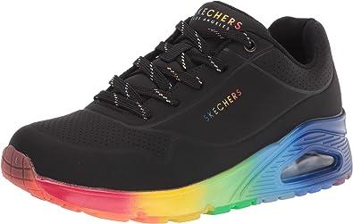 Street Uno-Rainbow Soles Sneaker
