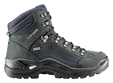Lowa Renegade GTX Mid dark grey-navy IkVQDS