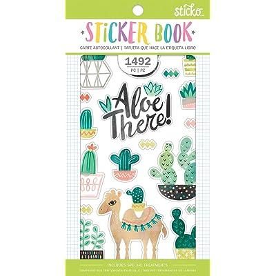 EK Success EKS8600090 Sticker Book Succulent: Arts, Crafts & Sewing