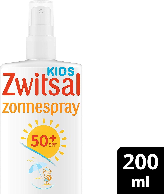 Zwitsal Zonnespray Kids SPF 50+ 0% parfum 200 ml - 1 stuk