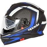 Spada RP-One Regnade Motorcycle Motorbike Black/Yellow Helmet
