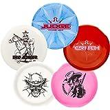 Dynamic Discs Premium 5 Disc Golf Set- Big Stamp Series | Premium Quality Frisbee Golf Discs | Special Edition Stamp…