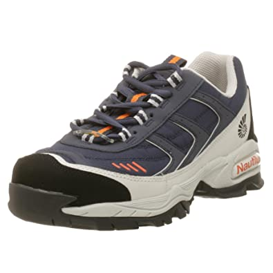 NAUTILUS Men's No Exposed Metal Soft Toe Athletic Work Shoes, Wide