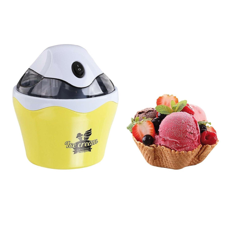beige Klarstein IceIceBaby Sorbetière 0,75l machine à crème glacée 7,3 à 9,5W