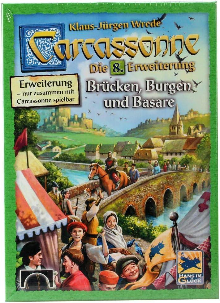 Hans im Glück HIGD0107 Carcasona Puentes, Castillos Y Bazares: Amazon.es: Juguetes y juegos