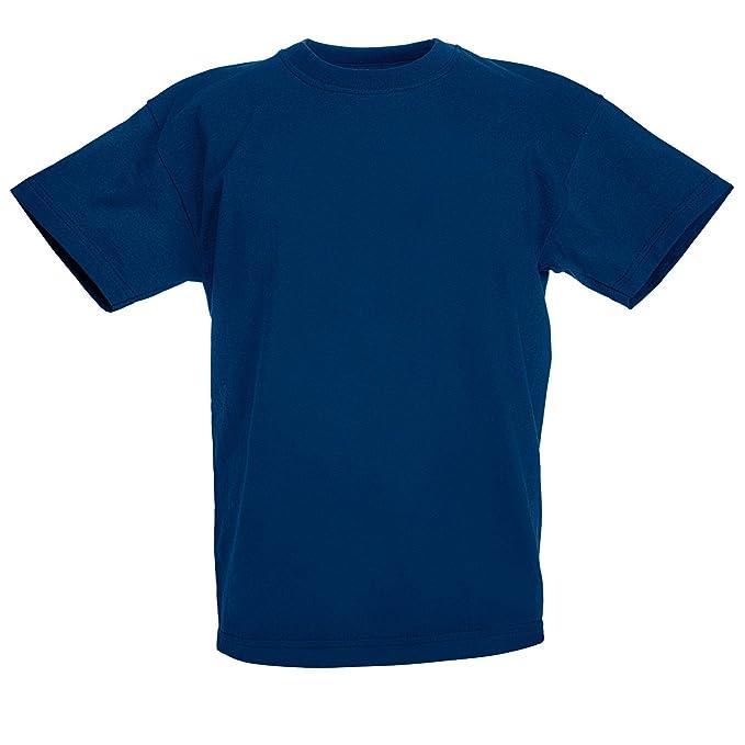 9274a2b05005 Fruit of the Loom Bambini Unisex Valueweight t-Shirt Manica Corta:  Amazon.it: Abbigliamento