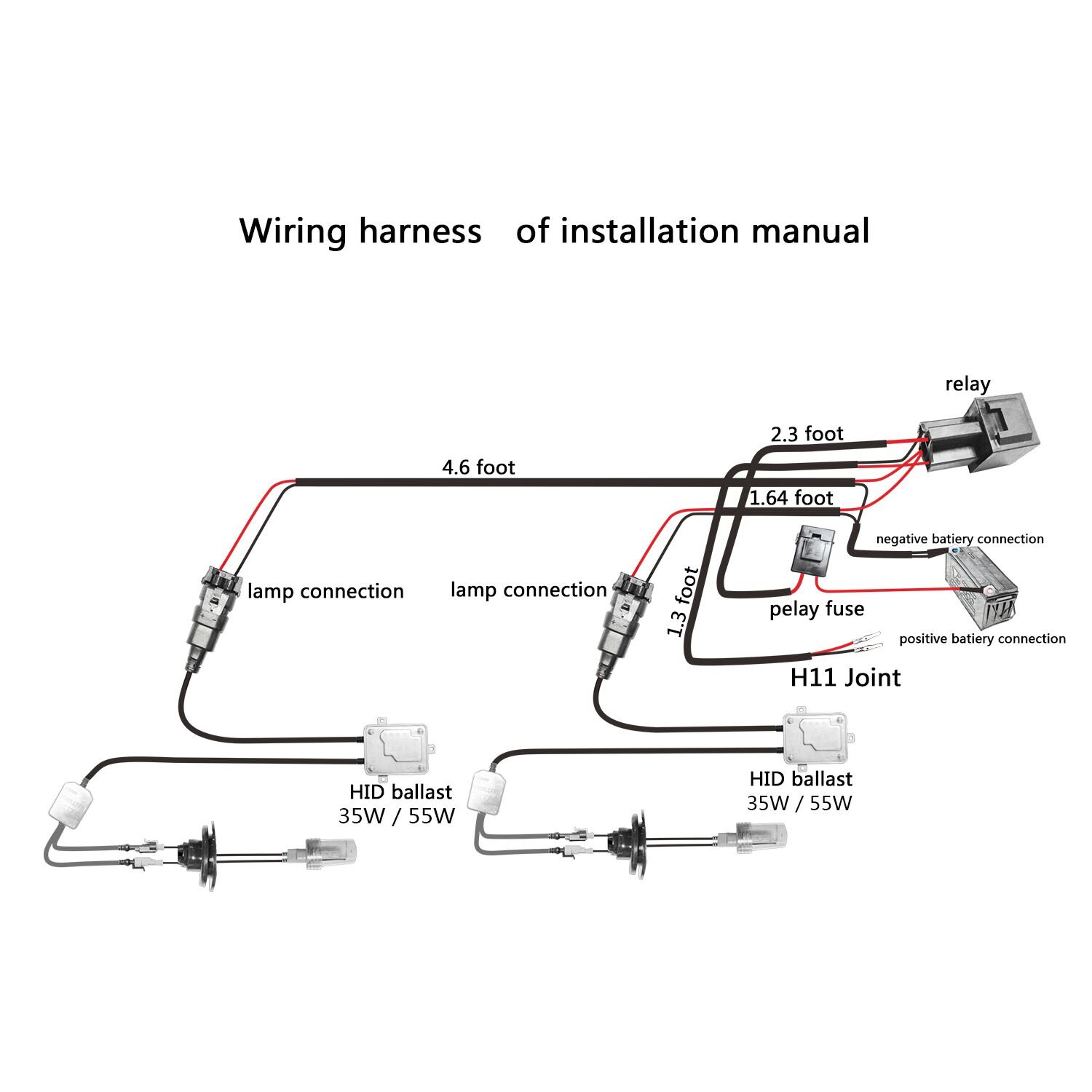 Mopeds Xenon Hid Conversion Wiring Diagrams | Wiring Liry on