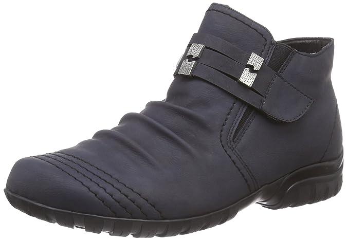 Rieker Stiefel Stiefeletten Boots Damen Schuhe schwarz 36-42 L4684-01 Neu19