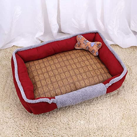 Amazon.com: Pet Dog Bed Breathable Anti-Slip Bottom ...