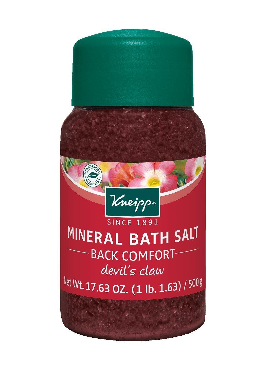 Amazon.com : Kneipp Mineral Bath Salt, Joint & Muscle, Amica, 17.63 ...