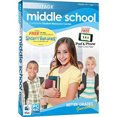 Middle School Advantage 2012 AMR: Software