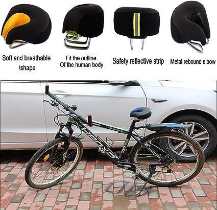 Sill/ín de Bicicleta Confort Unisex con Suspensi/ón de Muelles Tipo Retro Muy C/ómodo