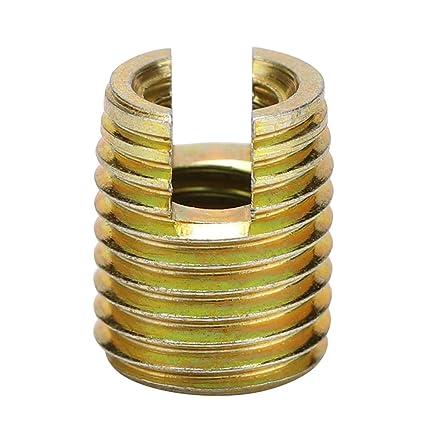 60pcs 302 Type Carbon Steel Self-tapping Screw Thread Repair Insert Accessories