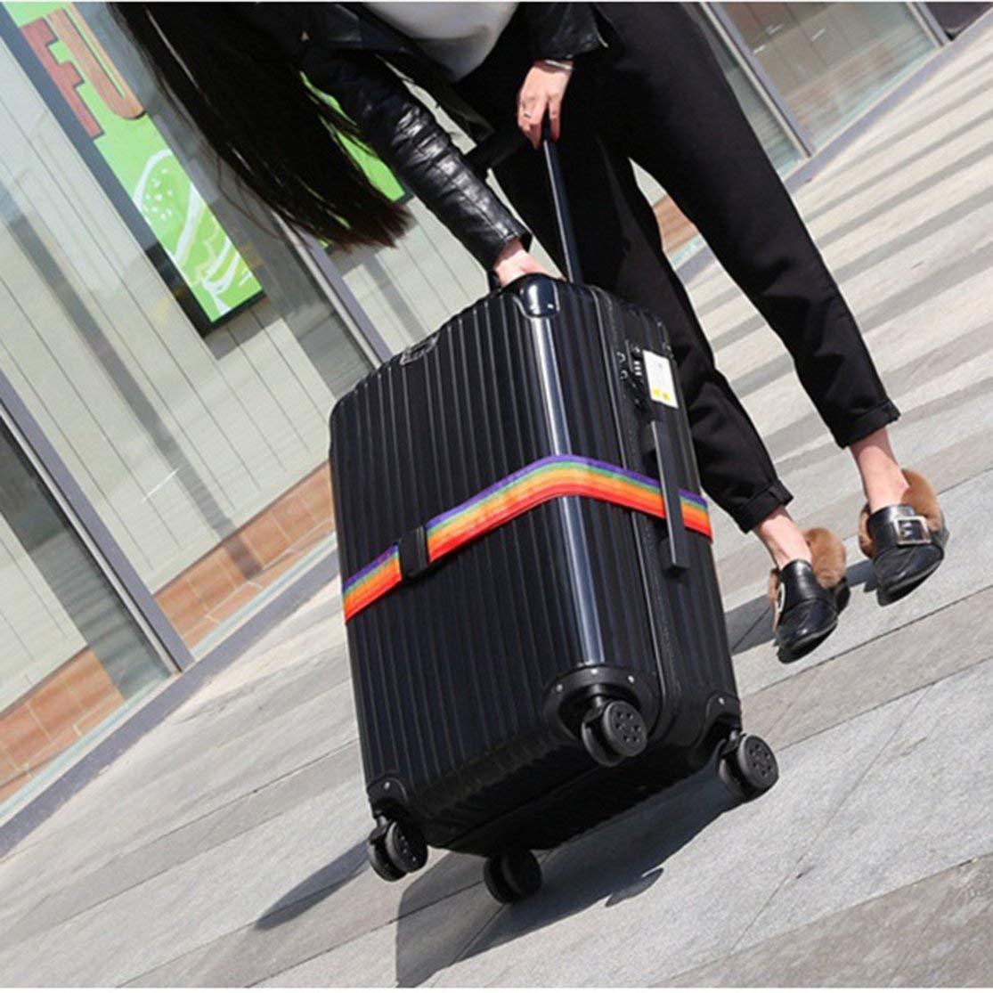 LouiseEvel215 Pratique Portable Taille en Plein Air Voyage Bagages Ceinture Sangle demballage Valise Attachez Ceinture De S/écurit/é Ceinture De S/écurit/é