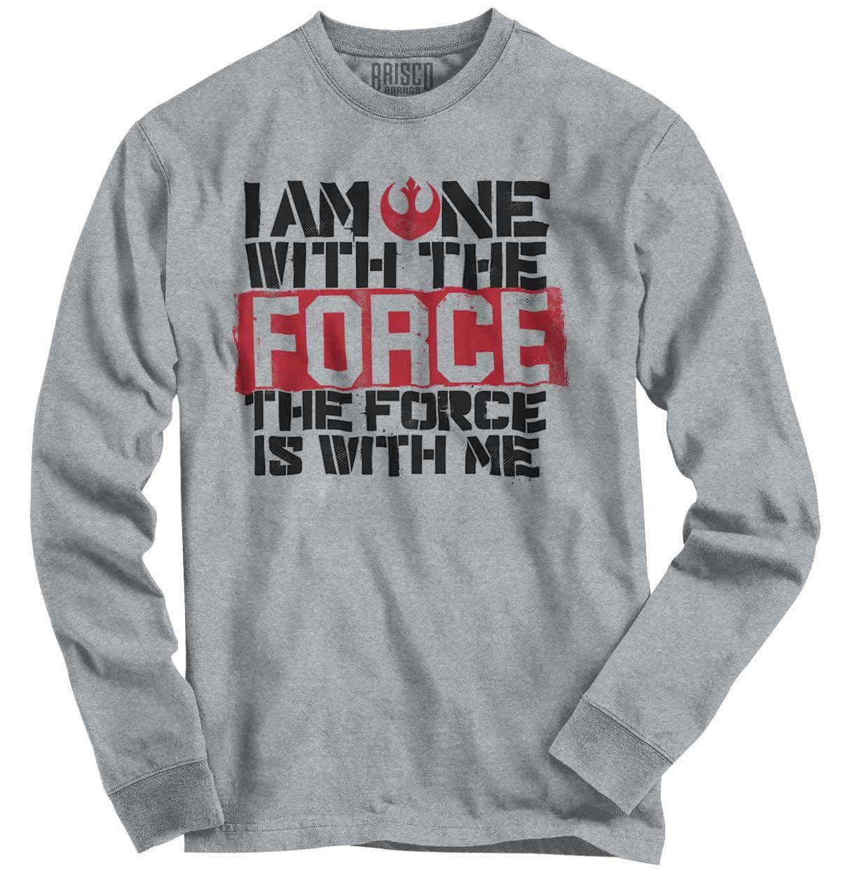 One With The Force Rogue One Chirrut Imwe Funny Star Wars Ts Shirts