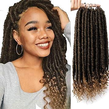 Amazoncom Aisi Beauty Straight Goddess Locs Crochet Hair 16 Inches