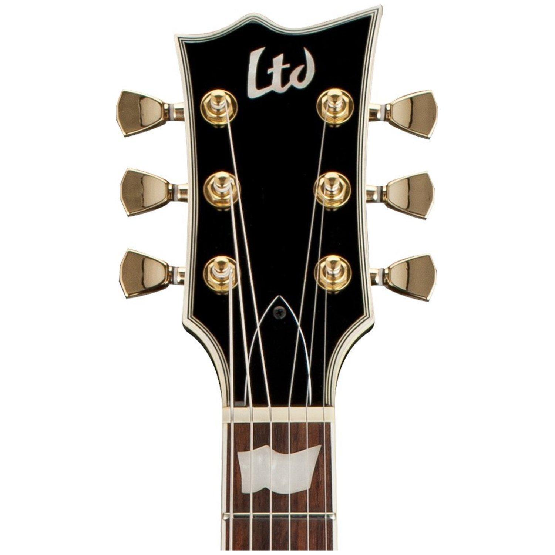 esp ltd ec 256 black electric guitar no distressing